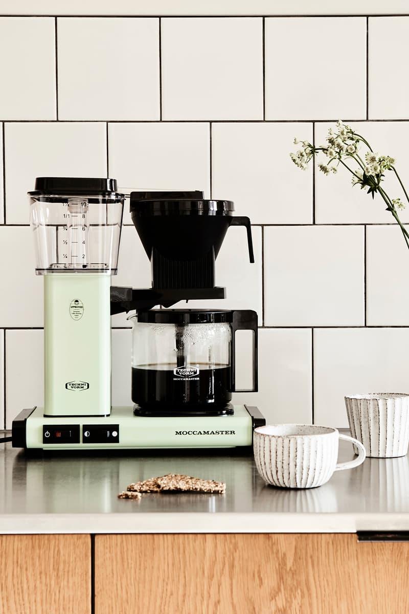 Moccamaster KBG Drip Coffee Brewer Machine Maker Pistachio Pastel Green