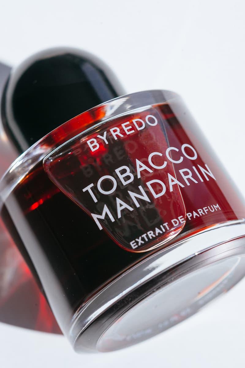 Byredo Tobacco Mandarin Night Veils perfume extract Fragrance