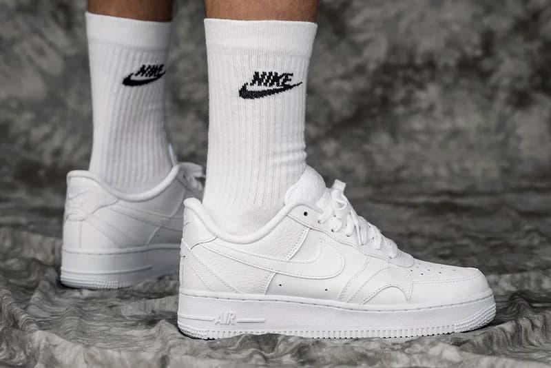 Nike Air Force 1 Misplaced Swoosh White