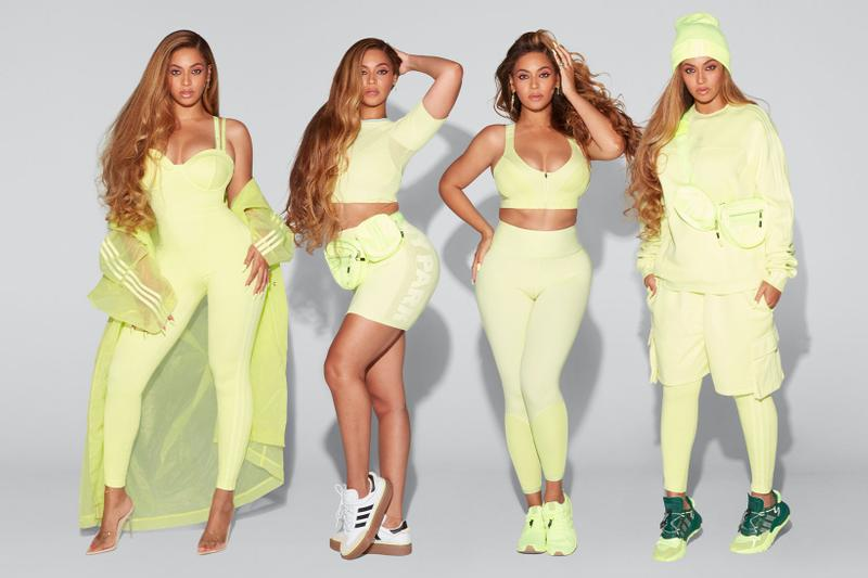 beyonce ivy park adidas drop 2 collaboration ultra boost nite jogger bike shorts hoodies dresses release