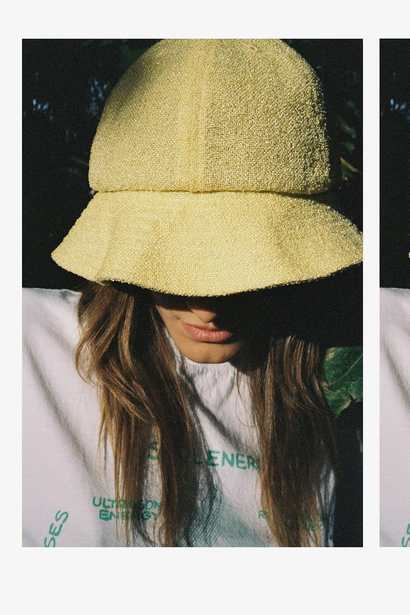 bianca chandon fall winter anoraks bucket hats t-shirts sustainable price release