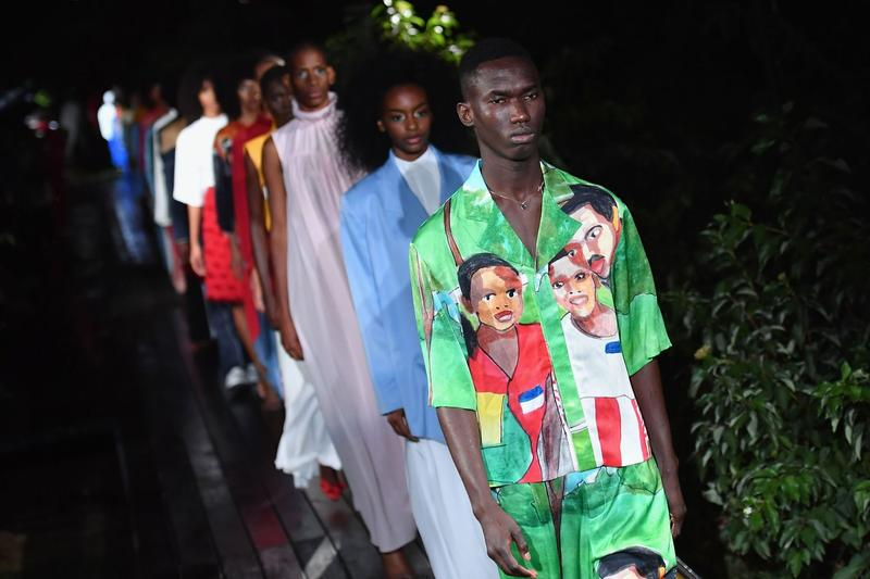 Pyer Moss Spring/Summer 2019 Collection New York Fashion Week Show