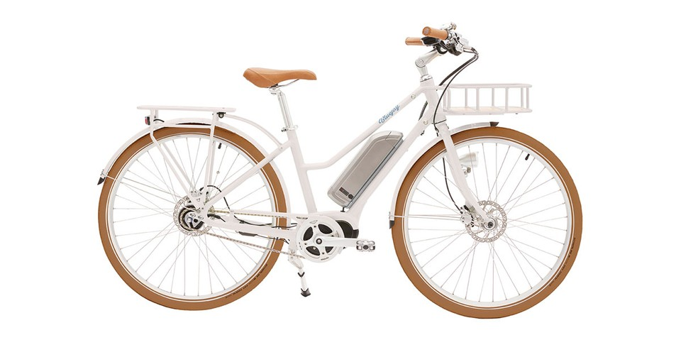 """Bluejay's """"Pantone White"""" E-Bike Is Aesthetic and Eco-Friendly"""