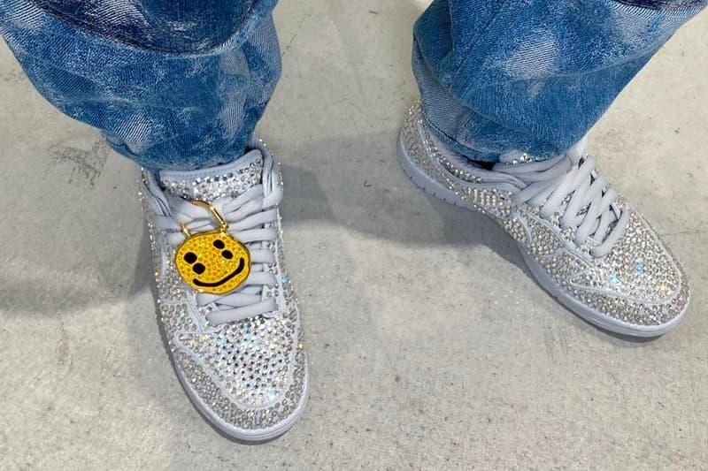 Cactus Plant Flea Market x Nike Dunk Low Sneaker Collaboration Air Sunshine Crystal Rhinestone Yoon AMBUSH