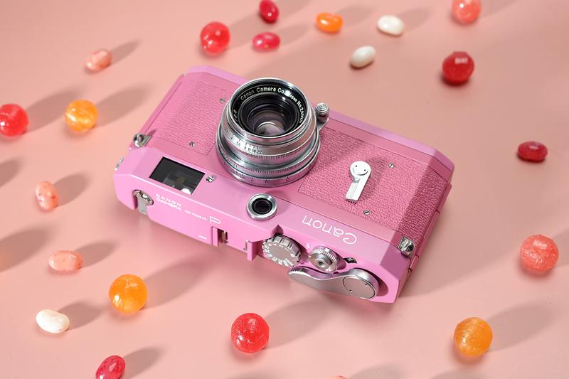 Canon P Camera Customized Rosy Pink Rangefinder Film Old Shueido Camera Taiwan Taipei Photography