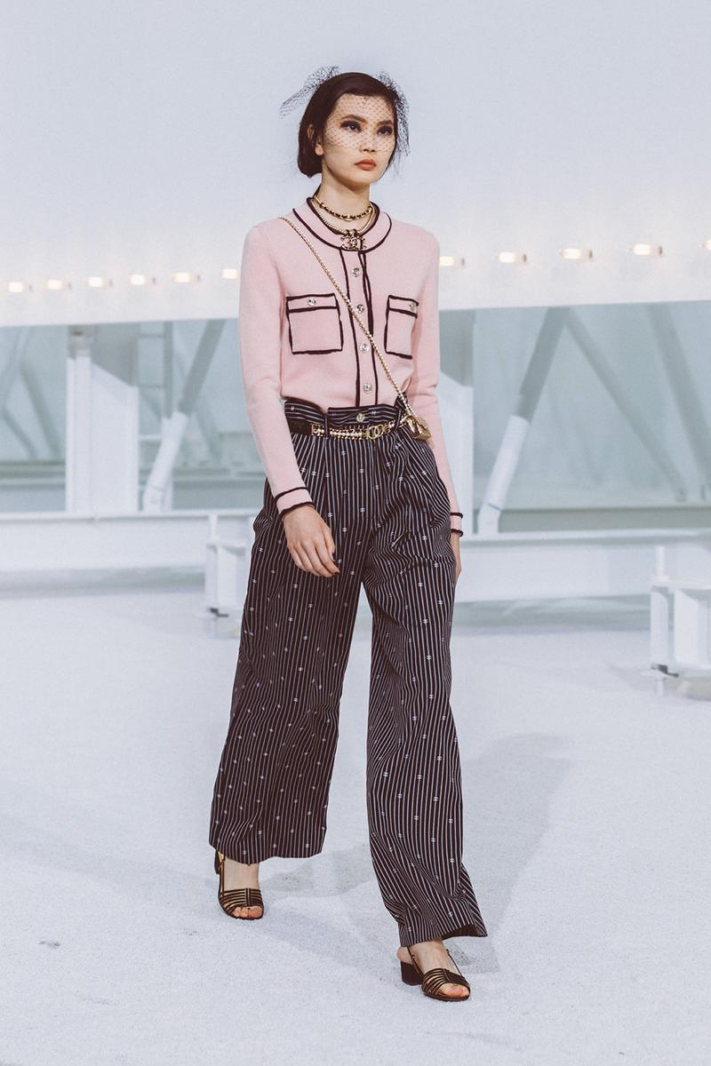 chanel spring summer 2021 collection ready to wear blackpink jennie k-pop