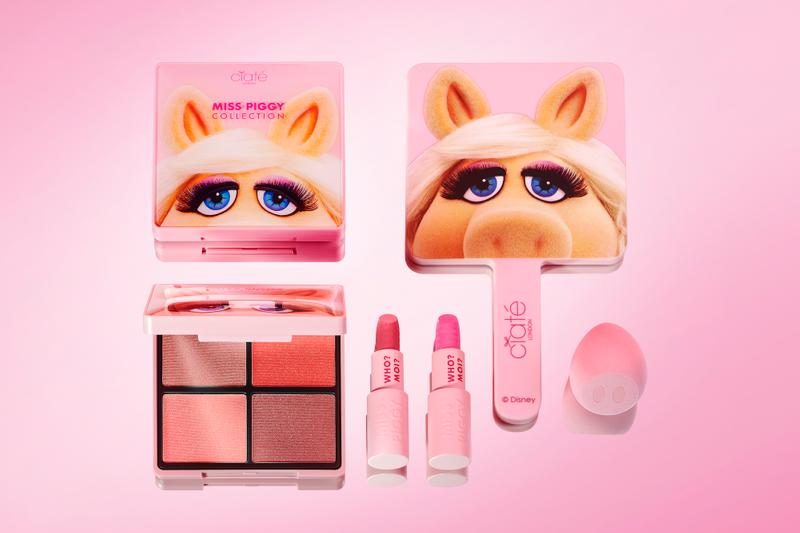 Disney Miss Piggy x Ciaté London Makeup Collab Collection Release Eyeshadow Palette BLush Pink Beauty