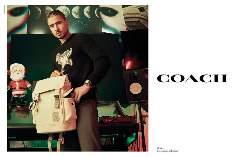 coach holiday is where you find it campaign jennifer lopez kiko mizuhara family