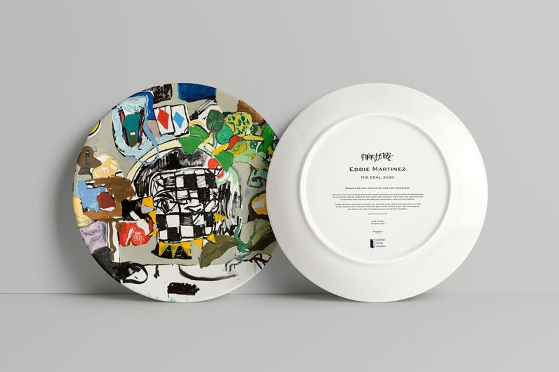 Yoshitomo Nara Artist Plate Coalition for the Homeless Project