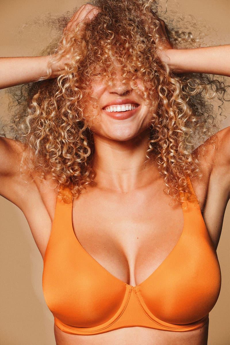 cuup new colorway zest orange bras lingerie underwear thong plunge scoop release