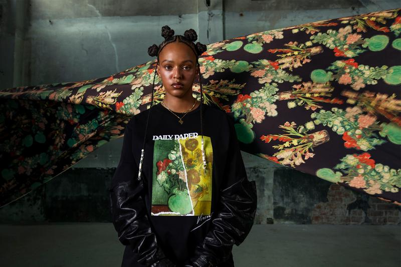 daily paper vincent van gogh museum hoodies puffer jackets beanies collaboration campaign release info