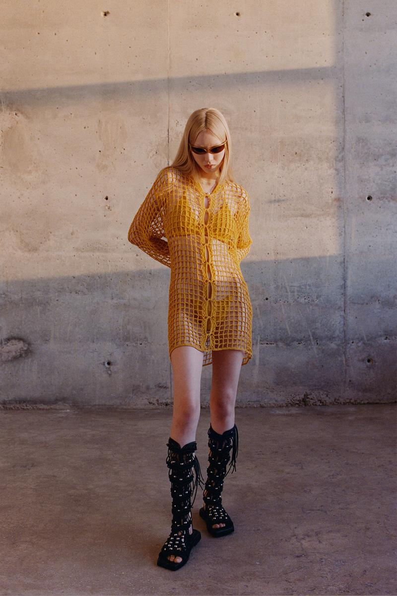 dion lee spring summer 2021 collection lookbook nature new york fernanda ly hanne gaby odiele