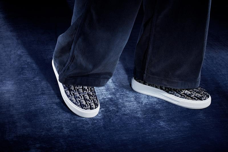 dior solar sneakers blue gold colorway maria grazia chiuri shoes footwear sneakerhead