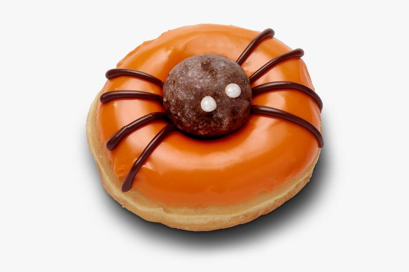 dunkin donuts spicy ghost pepper halloween diy spider food release where to buy
