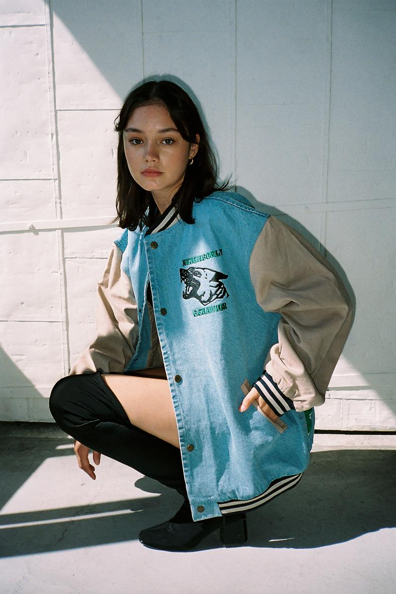 Friends With Animals Fall/Winter 2020 Collection Letterman Jacket