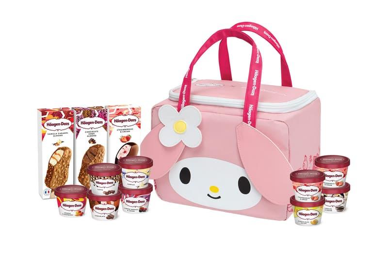 sanrio haagen dazs hello kitty my melody pompompurin ice cream cooler bags release hong kong