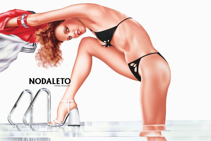 Harumi Yamaguchi x Nodaleto Spring/Summer 2021 Campaign Collection