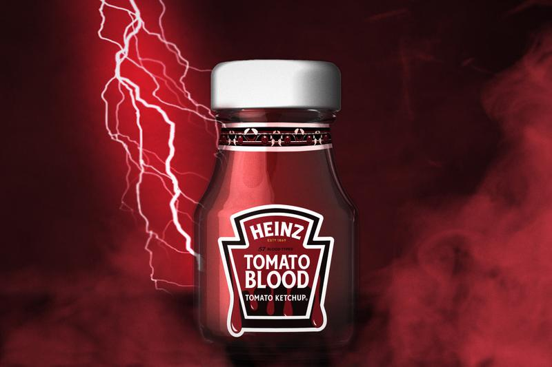Heinz Releases Tomato Blood Ketchup for Halloween Condiment Limited-Edition