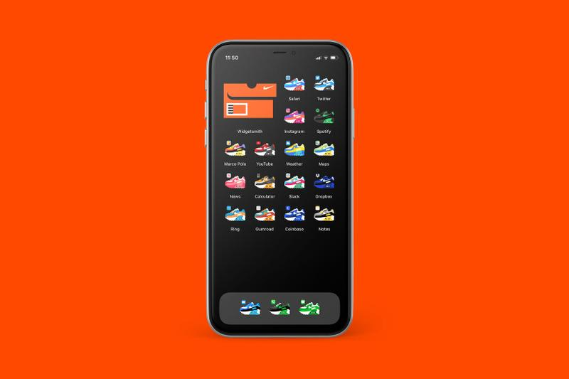 iPhone App Icons Home Screen Nike Sneakers Air Max 90 Aesthetic Custom Pack Jeremy Booth