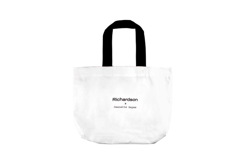 Jeanette Hayes x Richardson Collaboration Collection Bomber Jacket Tote Bag