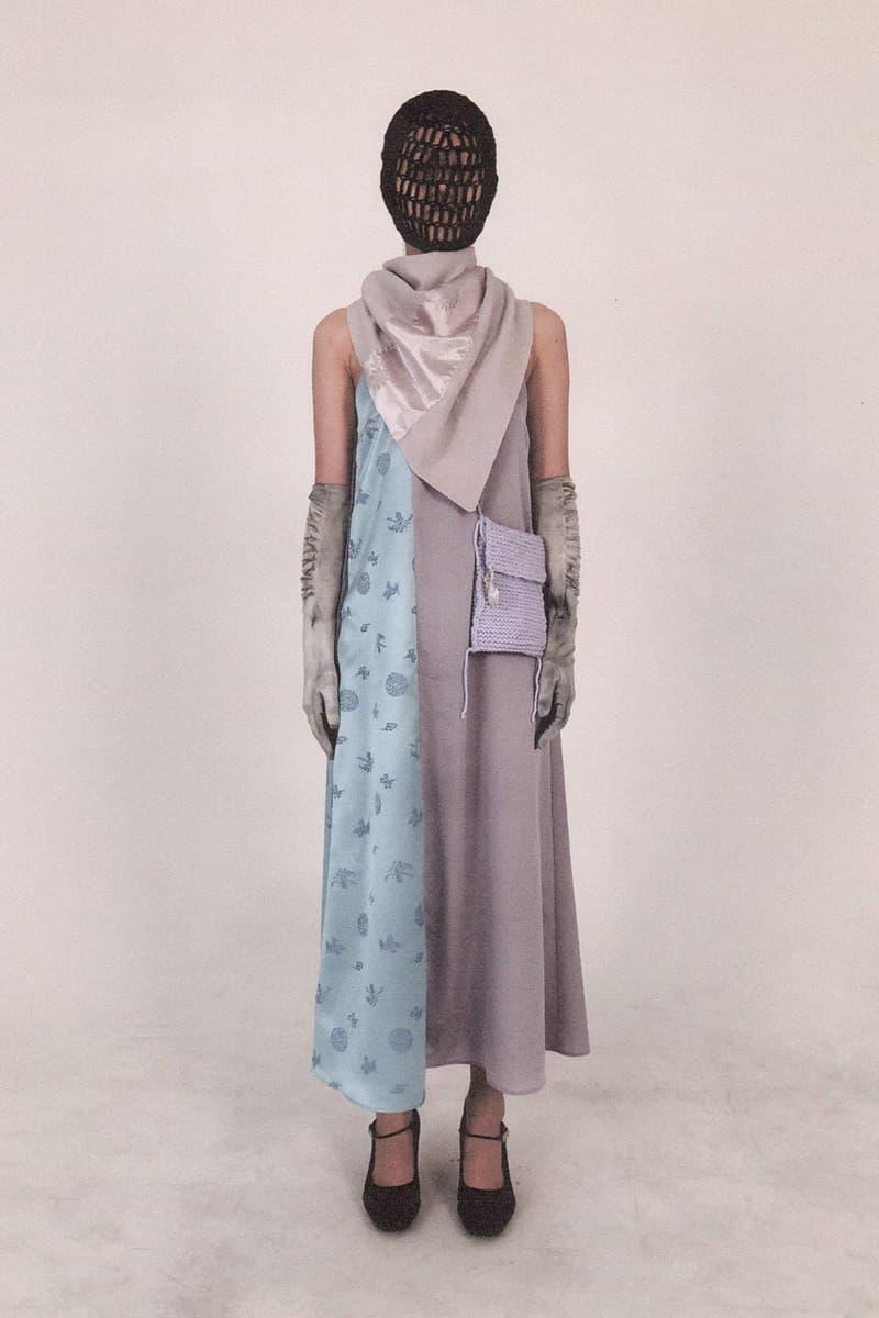 jichoi spring summer 2021 glasklar womenswear collection lookbook korean streetwear