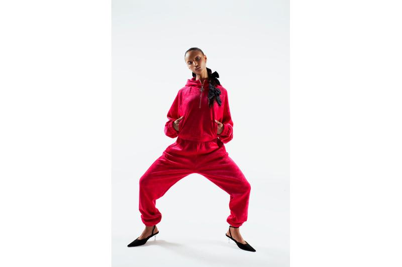 juicy couture uk fall winter 2000s velour tracksuits hoodies leggings loungewear