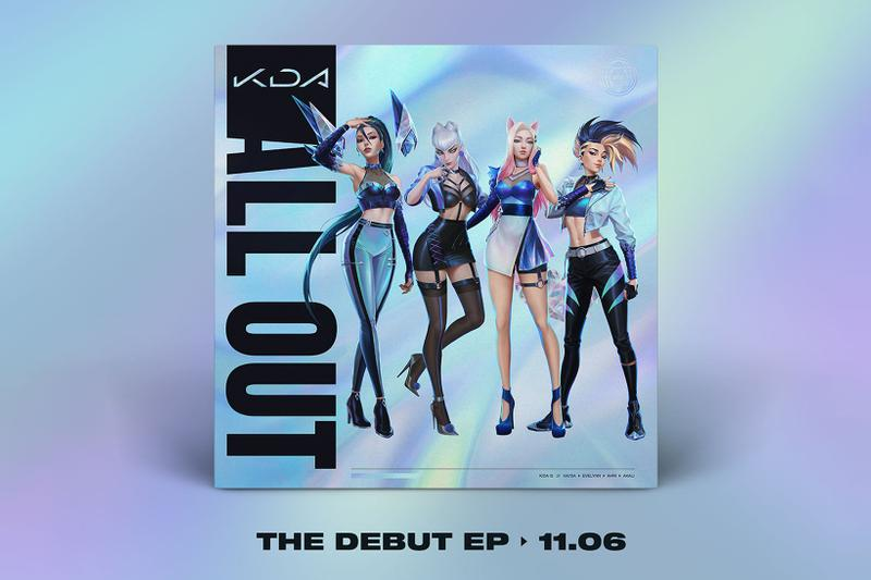 kda all out debut ep collaborators full list twice gidle madison beer wolftyle kim petras league of legends k-pop riot games