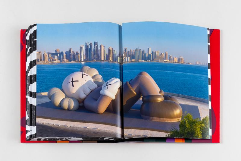 kaws he eats alone book catalog exhibition qatar doha fire station museum art release