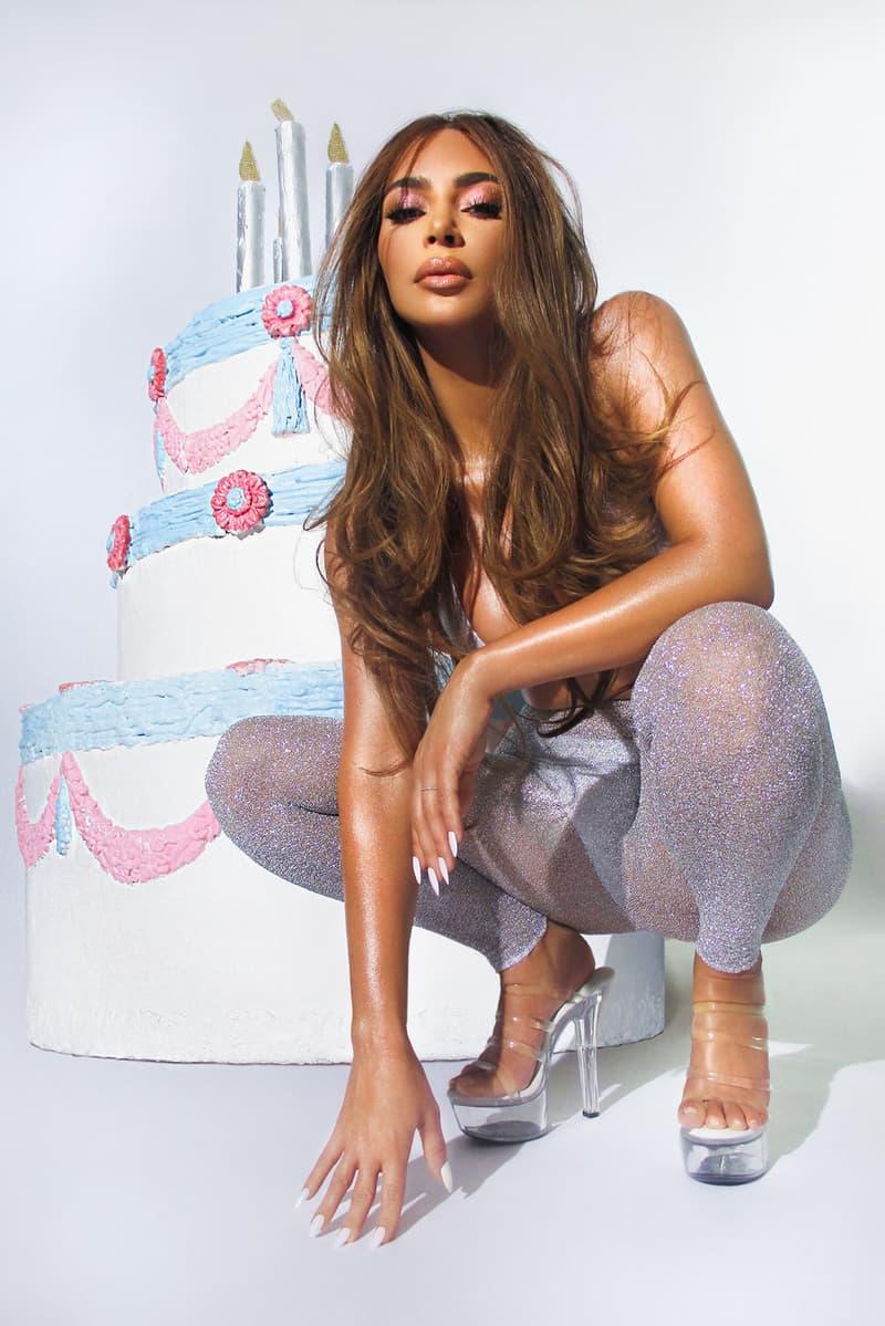kim kardashian kkw beauty opalescent birthday collection eyeshadow liquid lipsticks lip gloss liner makeup