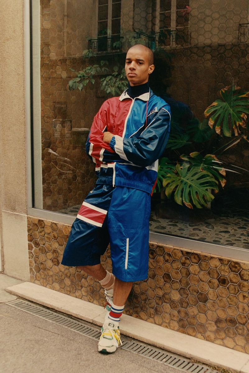 lacoste spring summer 2021 collection lookbook upcycling vintage polo shirts sweatshirts limited release