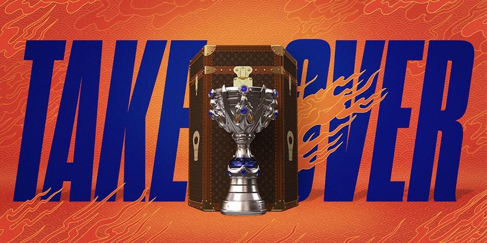 Riot Games Reveals Louis Vuitton Trophy Case Ahead of 'League of Legends' World Championship