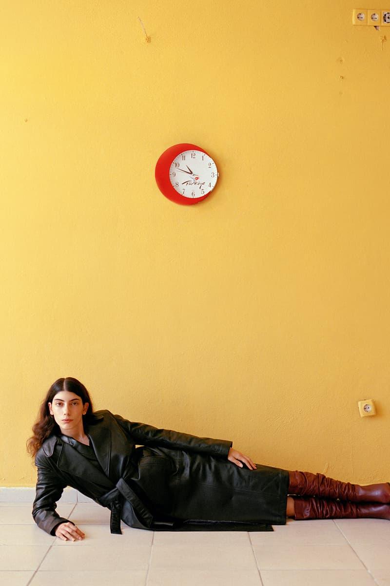 les benjamins istanbul turkey wild east fall winter lookbook psychedelic rock leather jackets