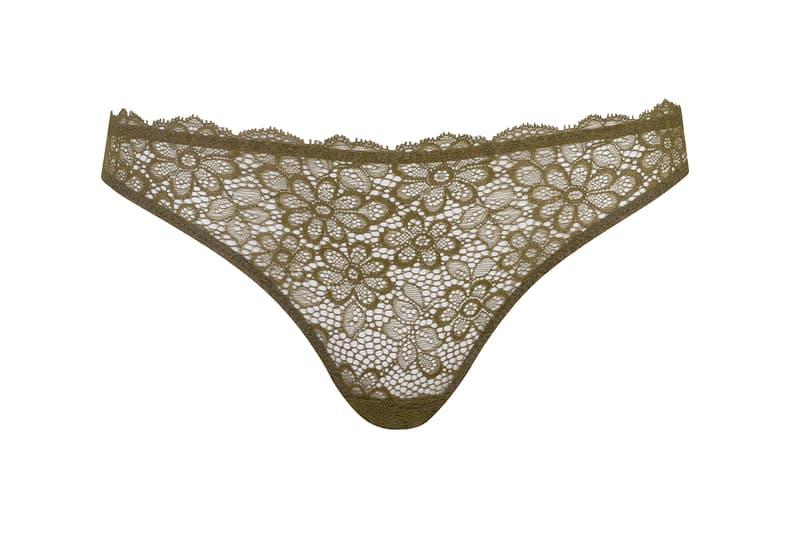 Les Girls Les Boys Lace Lingerie Bra Underwear Black Khaki
