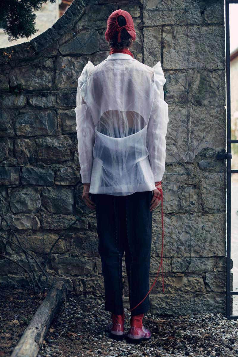 maison margiela spring summer 2021 collection paris fashion week pfw swalk co-ed john galliano