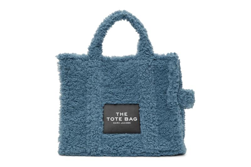 marc jacobs sherpa tote bag the small traveler pink blue black fall winter accessories price