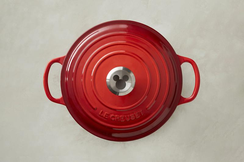 Mickey Mouse x Le Creuset Disney Cookware Collection Collaboration Dutch Oven Ramekin Trivet