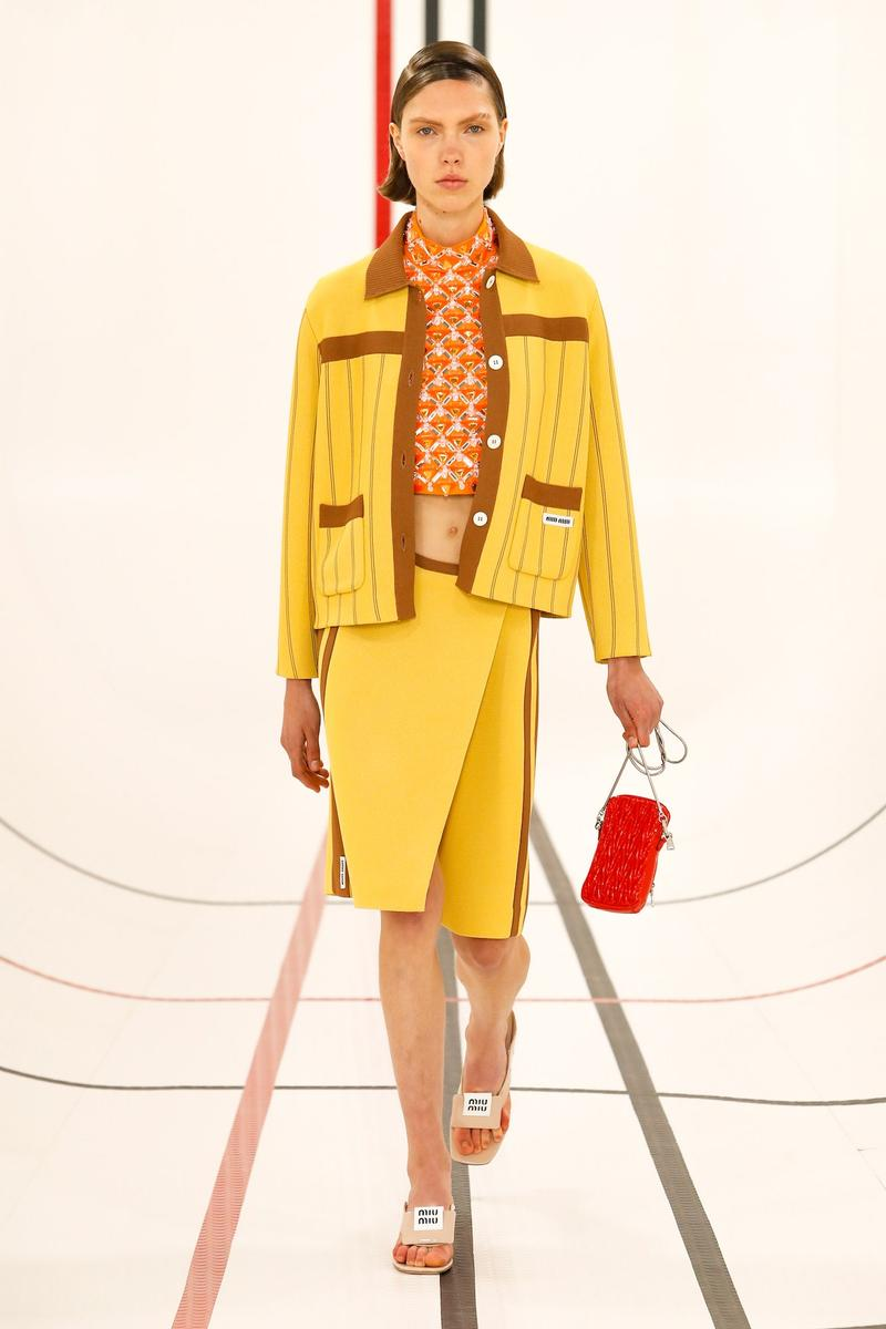 Miu Miu Spring/Summer 2021 RTW Collection Miuccia Prada