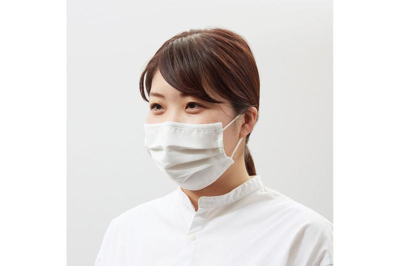 MUJI Face Mask Reusable Cloth Coronavirus COVID-19  Cotton White