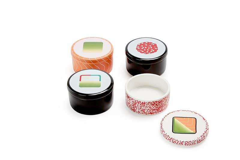 Nam Yoon Maki Sushi Soy Sauce Bowls Design Kitchen Gift