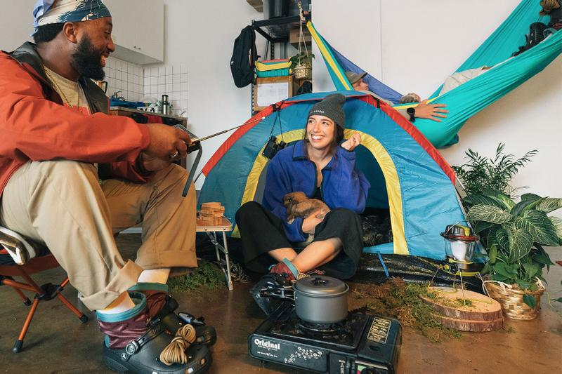nicole mclaughlin crocs camping clogs collaboration ropes lamps upcycling sustainability