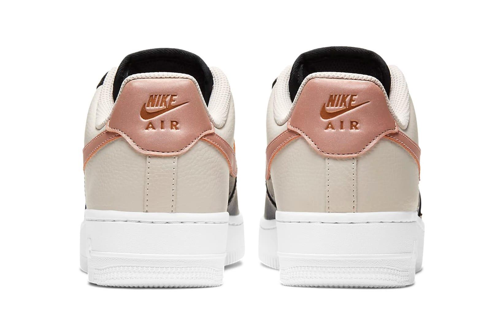 Nike Air Force 1 '07 Black/Pink/Beige