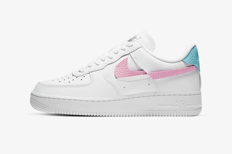 nike air force 1 lxx womens sneakers white pink red blue colorway sneakerhead shoes footwear