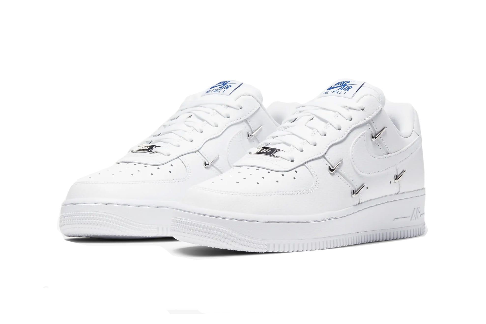 Nike Air Force 1 Metallic Swoosh