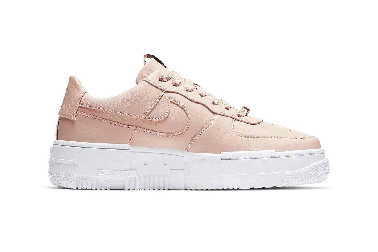 air force 1 beige pink