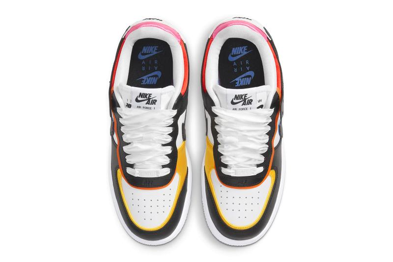 nike air force 1 af1 shadow pink glow chile red blue yellow orange womens sneakers price