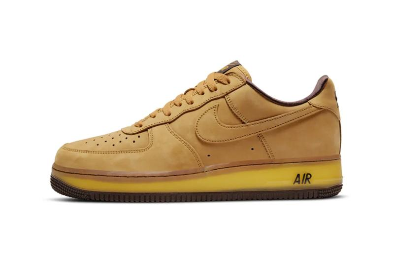 nike air force 1 af1 wheat mocha brown tan suede sneakers release date price info