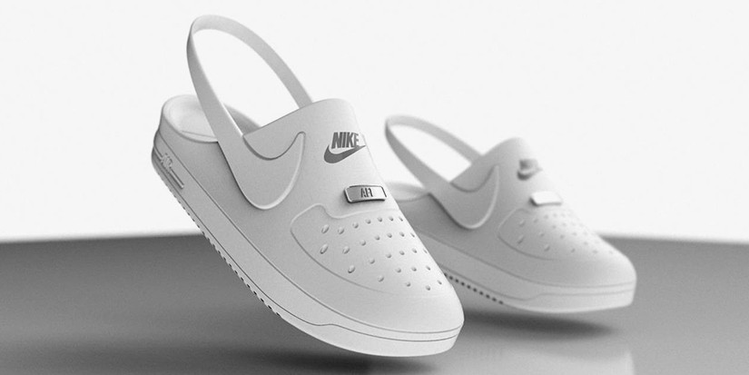 Crocs x Nike Unofficial Air Force 1