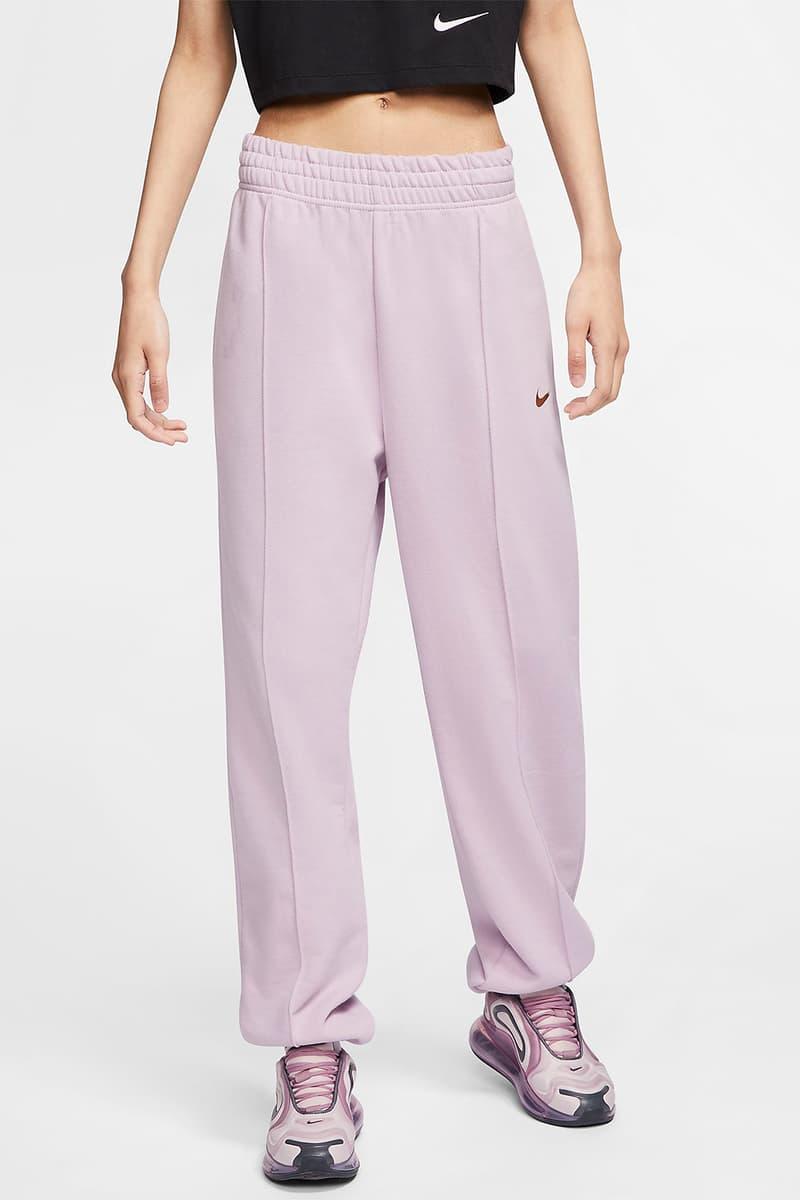 nike sportswear womens sweatpants trousers pastel purple pink green