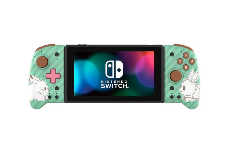 nintendo switch joy con controller pokemon pikachu eevee poke balls hori