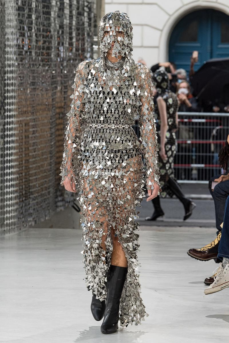 paco rabanne spring summer 2021 collection womenswear paris fashion week pfw julien dossena